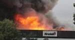 Incendio en Airedale